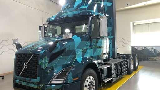DHE пробует эксплуатировать аккумуляторные грузовики