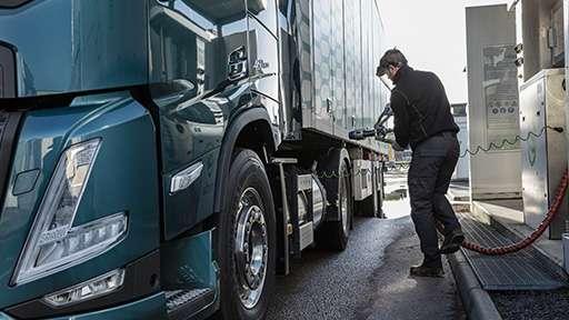 Volvo Trucks: СПГ – это подходящая альтернатива дизельному топливу