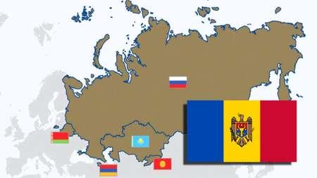 Общий объем взаимной торговли стран-участников ЕАЭС с Молдовой увеличился в три раза за последние три года