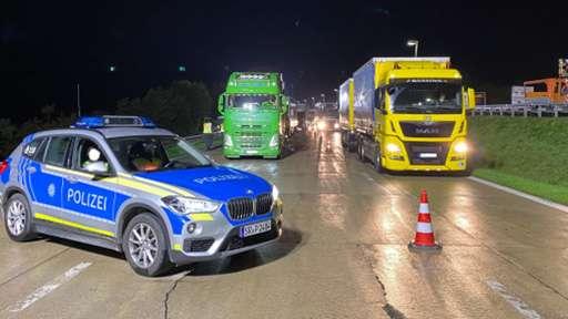 Акция по безопасности движения грузовиков прошла на трассах Кельна