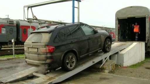 Объем доставки машин вагонами-автомобилевозами вырос более чем на треть