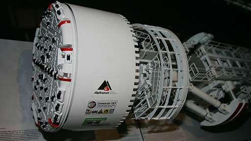 Разработан тоннелепроходческий комплекс гигантского диаметра