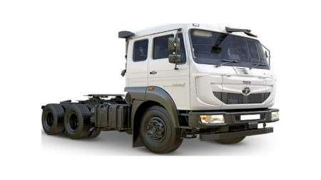 Новый магистральный тягач сGCW 55тонн представлен компанией Tata