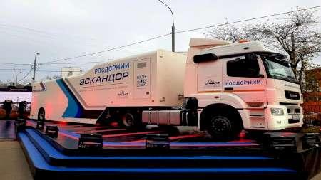 ВРоссии появилась первая передвижная лаборатория непрерывной диагностики автодорог «Эскандор»