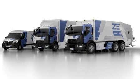 Renault Trucks пополнил свою линейку предложений новыми электрическими грузовиками