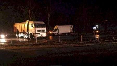 Массовая авария со смертельным случаем произошла на трассе М1