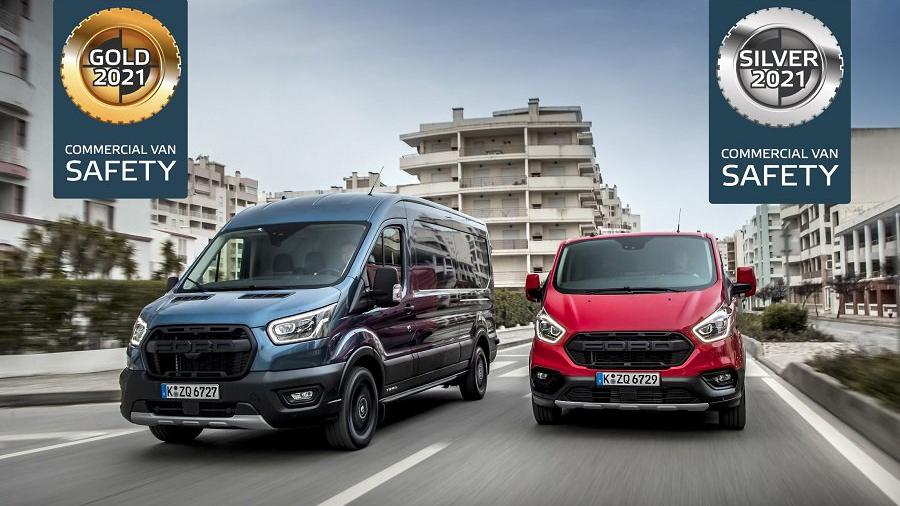 Фургоны Ford Transit получили звание самых безопасных в Европе