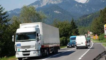 Действие запретов надвижение для транспортных средств вТироле вначале 2021 года