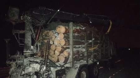 Из-за невнимательности водителя лесовоза, деревня Брестского района осталась без электричества
