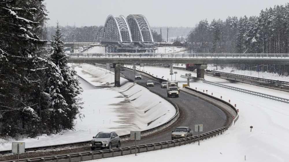 С 15 февраля в России в ночное время будут перекрывать участок трассы М-1 «Беларусь»
