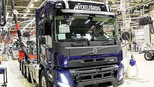 Volvo запустило всерийное производство новое поколение грузовиков FH, FH16, FM и FMX