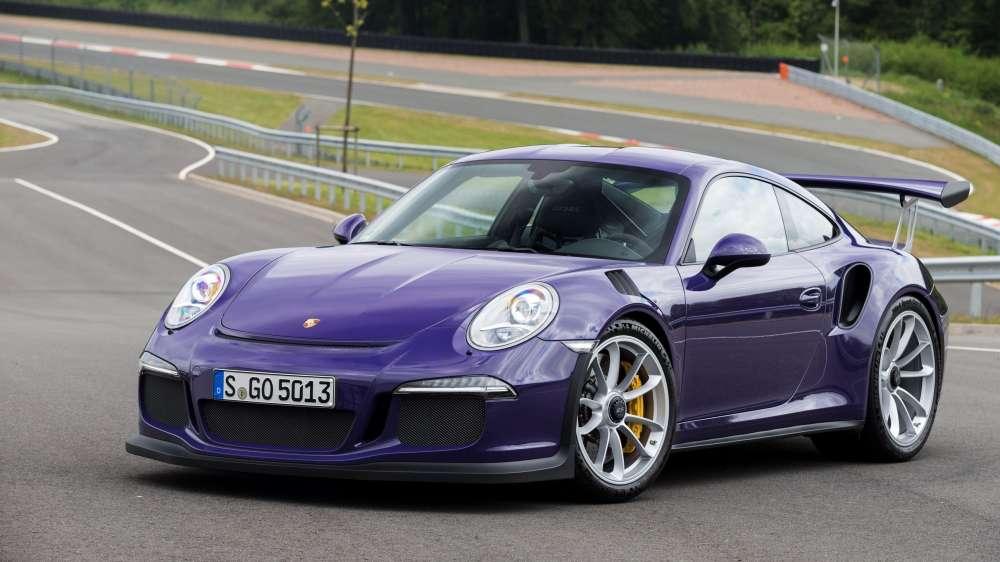 Новый суперкар от Porsche - представлен 911 GT3